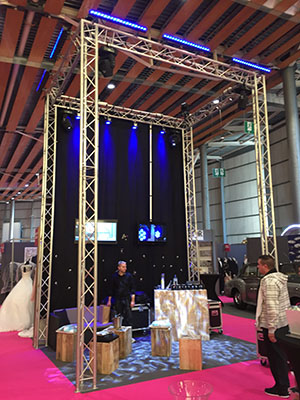 Stand structure (foire commerciale)