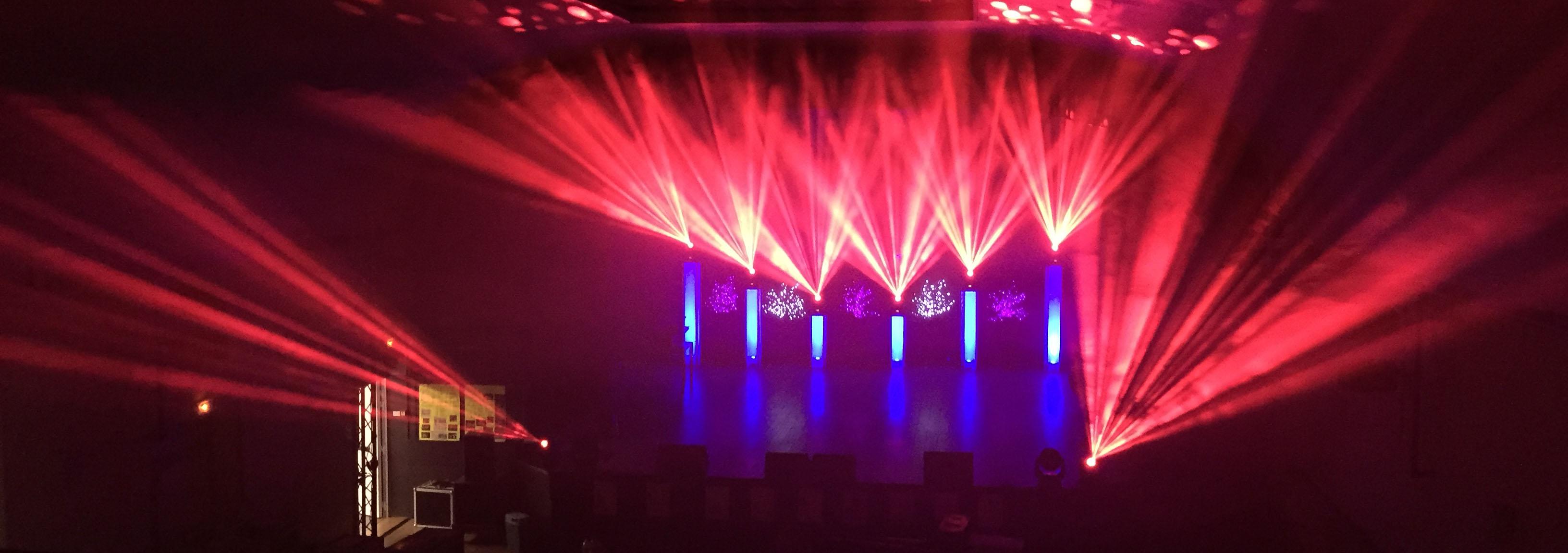 Exemple show lumières